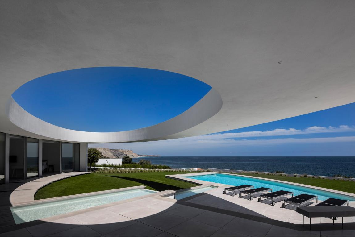 Elliptic House lagos portogallo pool
